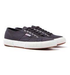 Superga 2750 Cotu Classic Grey Iron Canvas Trainers