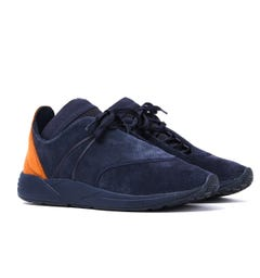 ARKK Copenhagen Eaglezero Suede S-E15 Midnight Blue Trainers