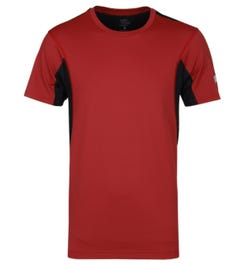 Every Second Counts Amaranth Red Rhythmic Technical Tee