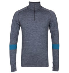 Every Second Counts Grey Unwind Quarter Zip Top