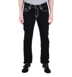 True Religion Rocco Black Super T Skinny Fit Jeans