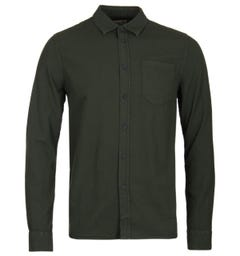 Nudie Jeans Henry Ivy Green Garment Washed Shirt
