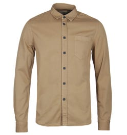 Nudie Jeans Henry Beige Pigment Dyed Shirt