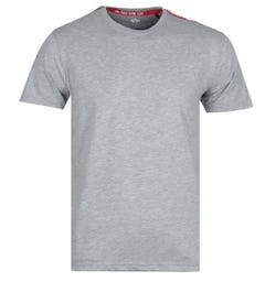 Alpha Industries NASA Tape Grey Heather T-Shirt