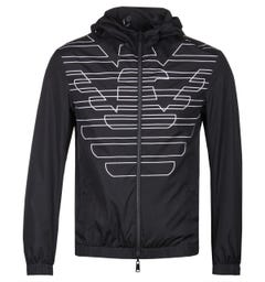Emporio Armani Reversible Black Waterproof Jacket