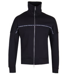 Emporio Armani Taping Full Zip Navy Jacket