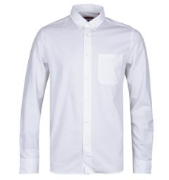 HUGO Ermann White Oxford Shirt