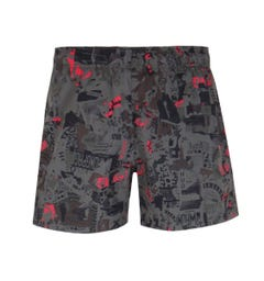 HUGO Grenada Grey Camo Swim Shorts