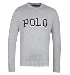 Polo Ralph Lauren Logo Grey Knit