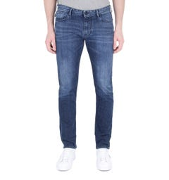 Emporio Armani J06 Mid Blue Denim Slim Fit Jeans