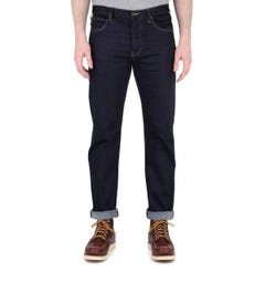 Emporio Armani J21 Indigo Denim Tobacco Stitch Regular Fit Jeans