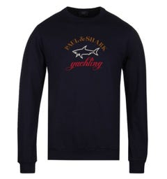Paul & Shark Original Branding Navy Sweatshirt