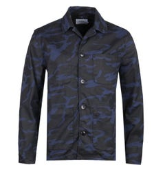 Farah x Northern Lights Eley Navy Camo Jacket