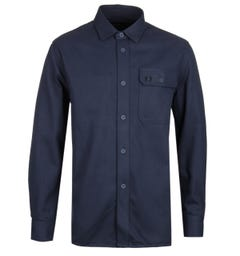 Fred Perry Dark Airforce Twill Utility Shirt