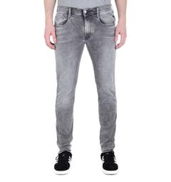 Replay Anbass Hyperflex Black Wash Skinny Fit Jeans