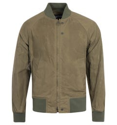 Barbour x Engineered Garments Irving Olive Bomber Jacket