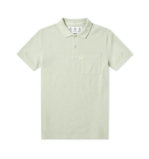 Barbour Lowther Mint Green Polo Shirt