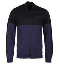 Barbour International Sensor Indigo Zip Through Sweat
