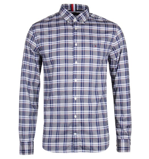 Tommy Hilfiger Mid Scale Oxford Check Shirt