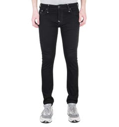 True Religion Tony Skinny Super T Black Denim Jeans