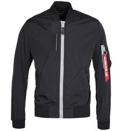 Alpha Industries MA-1 SL Black Bomber Jacket