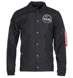 Alpha Industries NASA Black Coach Jacket