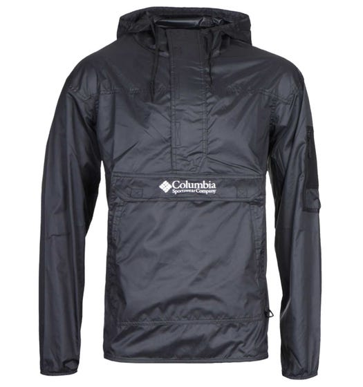Columbia Challenger Black Windbreaker