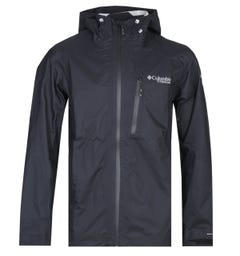 Columbia Titanium Pass 2.5L Shell Black Lightweight Jacket