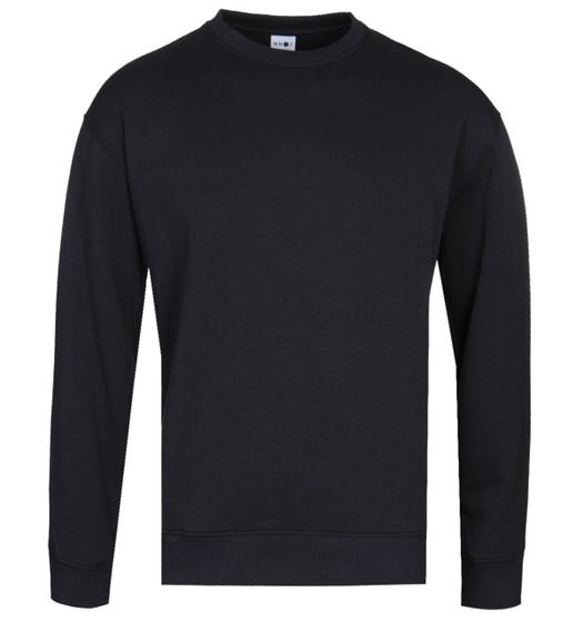 NN07 Jerome 3211 Crew Neck Black Sweatshirt
