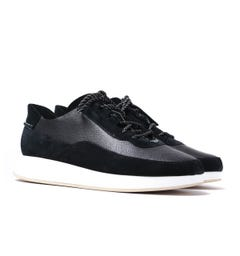 Clarks Originals Kiowa Black Suede Pace Trainers