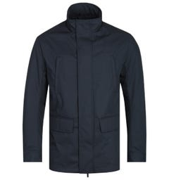 Emporio Armani Detachable Liner Navy Field Jacket