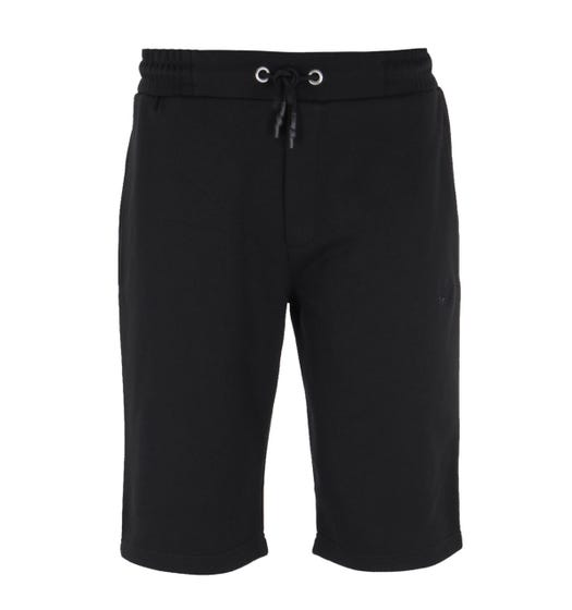 MCQ Alexander McQueen Swallow Logo Black Sweat Shorts