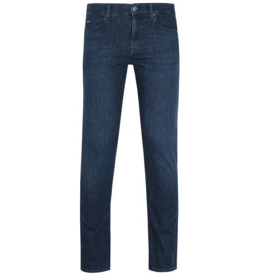 BOSS Delaware Slim Fit Soft Handle Dark Blue Denim Jeans