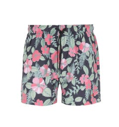 BOSS Hawaii Floral Print Swim Shorts