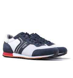 BOSS Parkour Runn Navy & Grey Trainers