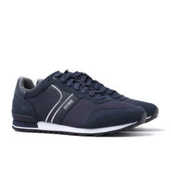 BOSS Parkour Runn Navy Trainers