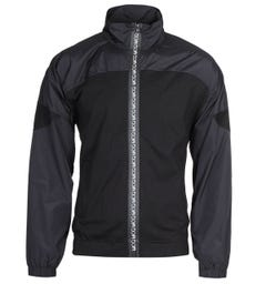 MCQ Alexander McQueen Zip Through Taped Black Track Top