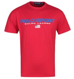 Polo Sport Red Logo T-Shirt
