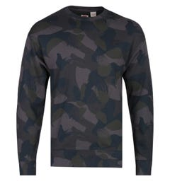 Levi's Authentic Camo Print Crew Neck Sweatshirt