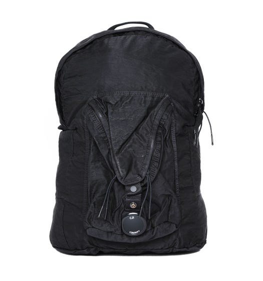 CP Company Black Lens Backpack