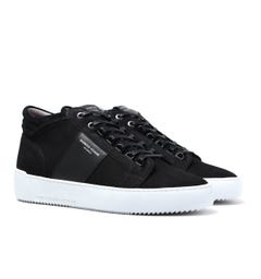 Android Homme Propulsion Mid Geo Black Trainers