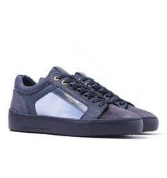 Android Homme Venice Gradient Velvet Navy Trainers