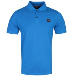 Paul & Shark Logo Royal Blue Polo Shirt