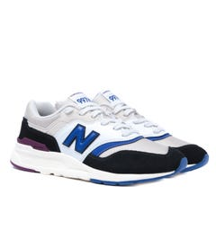 New Balance 997H White, Black & Blue Trainers
