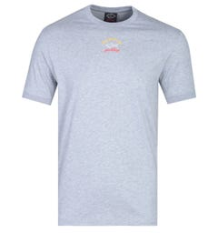 Paul & Shark Grey Small Logo T-Shirt