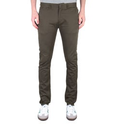Farah Drake Slim Fit Brown Chinos