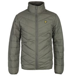 Lyle & Scott Khaki Puffer Jacket