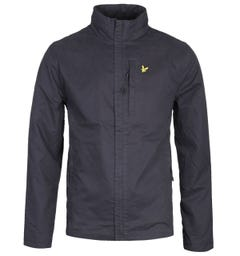 Lyle & Scott Lightweight Funnel Neck Jacket - Black