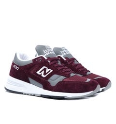 New Balance Made in England M1530 Burgundy Suede Trainers