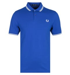Fred Perry M3600 Bright Regal Blue Polo Shirt
